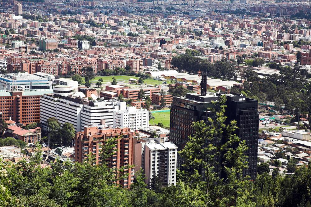 Skyline of North Bogota